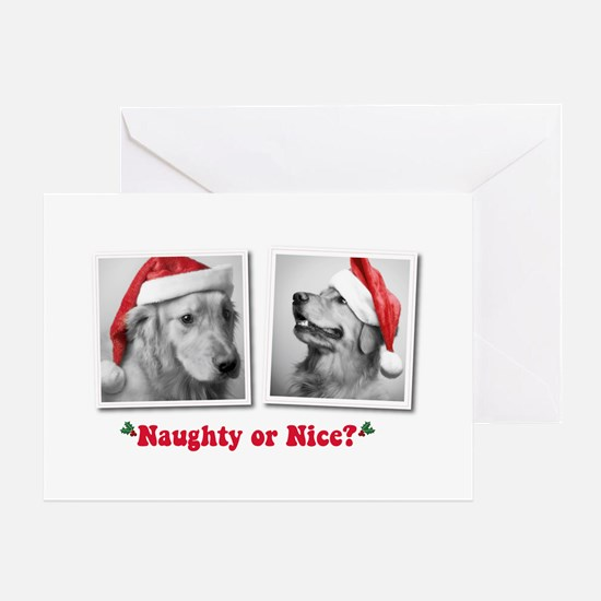 Naughty or Nice? Greeting Cards