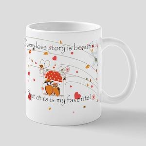 My favorite Love story Mugs