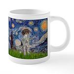 STARRY-GermanSHPointer 20 oz Ceramic Mega Mug