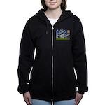 STARRY-GermanSHPointer Women's Zip Hoodie