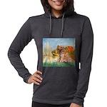 MP-Sailbts2-Golden1 Womens Hooded Shirt