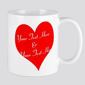 Personalize It - Customize 2 Lines of Text Mugs