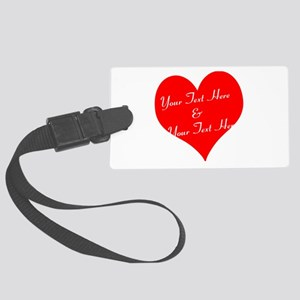 Personalize It - Customize 2 Large Luggage Tag