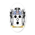 Osbaldston Oval Car Magnet