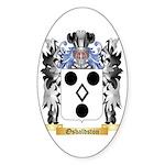 Osbaldston Sticker (Oval 10 pk)