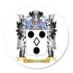 Osbaldiston Round Car Magnet