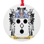 Osbaldeston Round Ornament