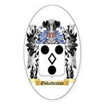Osbaldeston Sticker (Oval 10 pk)