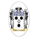 Osbaldeston Sticker (Oval 50 pk)