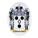 Osbaldeston Oval Ornament