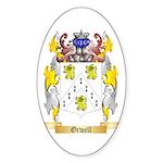 Orwell Sticker (Oval 50 pk)