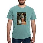 CLK-OPH2-GoldBanj1 Mens Comfort Colors Shirt