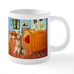5.5x7.5-ROOM-Golden5j 20 oz Ceramic Mega Mug