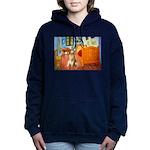 5.5x7.5-ROOM-Golden5j Women's Hooded Sweatshir