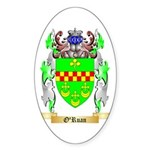 O'Ruan Sticker (Oval 50 pk)