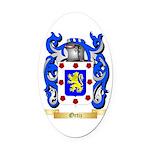 Ortiz Oval Car Magnet