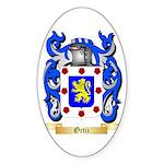 Ortiz Sticker (Oval 50 pk)