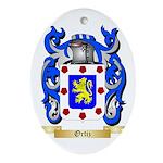 Ortiz Oval Ornament