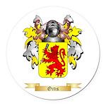 Ortis Round Car Magnet