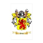 Ortis Sticker (Rectangle 10 pk)
