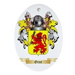 Ortet Oval Ornament