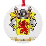 Ortel Round Ornament