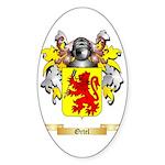 Ortel Sticker (Oval 10 pk)