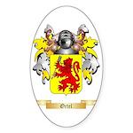 Ortel Sticker (Oval 50 pk)