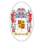 Ortega Sticker (Oval 10 pk)