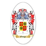 Ortega Sticker (Oval 50 pk)