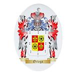 Ortega Oval Ornament