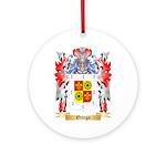 Ortega Round Ornament
