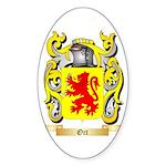 Ort Sticker (Oval 50 pk)