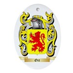 Ort Oval Ornament