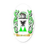 Orrill Oval Car Magnet