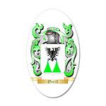 Orrill 35x21 Oval Wall Decal