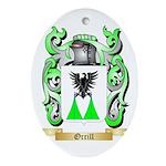 Orrill Oval Ornament