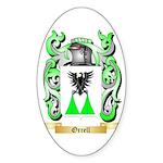 Orrell Sticker (Oval 50 pk)