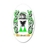Orrell 35x21 Oval Wall Decal