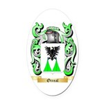 Orreal Oval Car Magnet