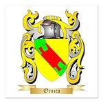 Orozco Square Car Magnet 3
