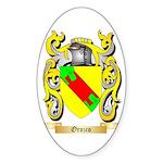 Orozco Sticker (Oval)