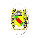 Orozco 35x21 Oval Wall Decal