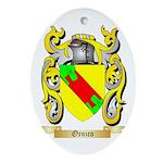 Orozco Oval Ornament