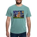 5.5x7.5-Starry-GoldBanj2 Mens Comfort Colors S