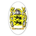 O'Rourke Sticker (Oval 50 pk)