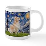 MP-Starry-GoldBoomr 20 oz Ceramic Mega Mug