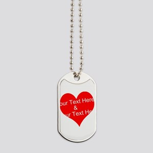 Personalize It - Customize 2 Lines Of Dog Tags