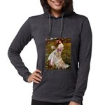 MP-Windflowers-GoldBoomr Womens Hooded Shirt