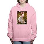 MP-Windflowers-GoldBoomr Women's Hooded Sweats